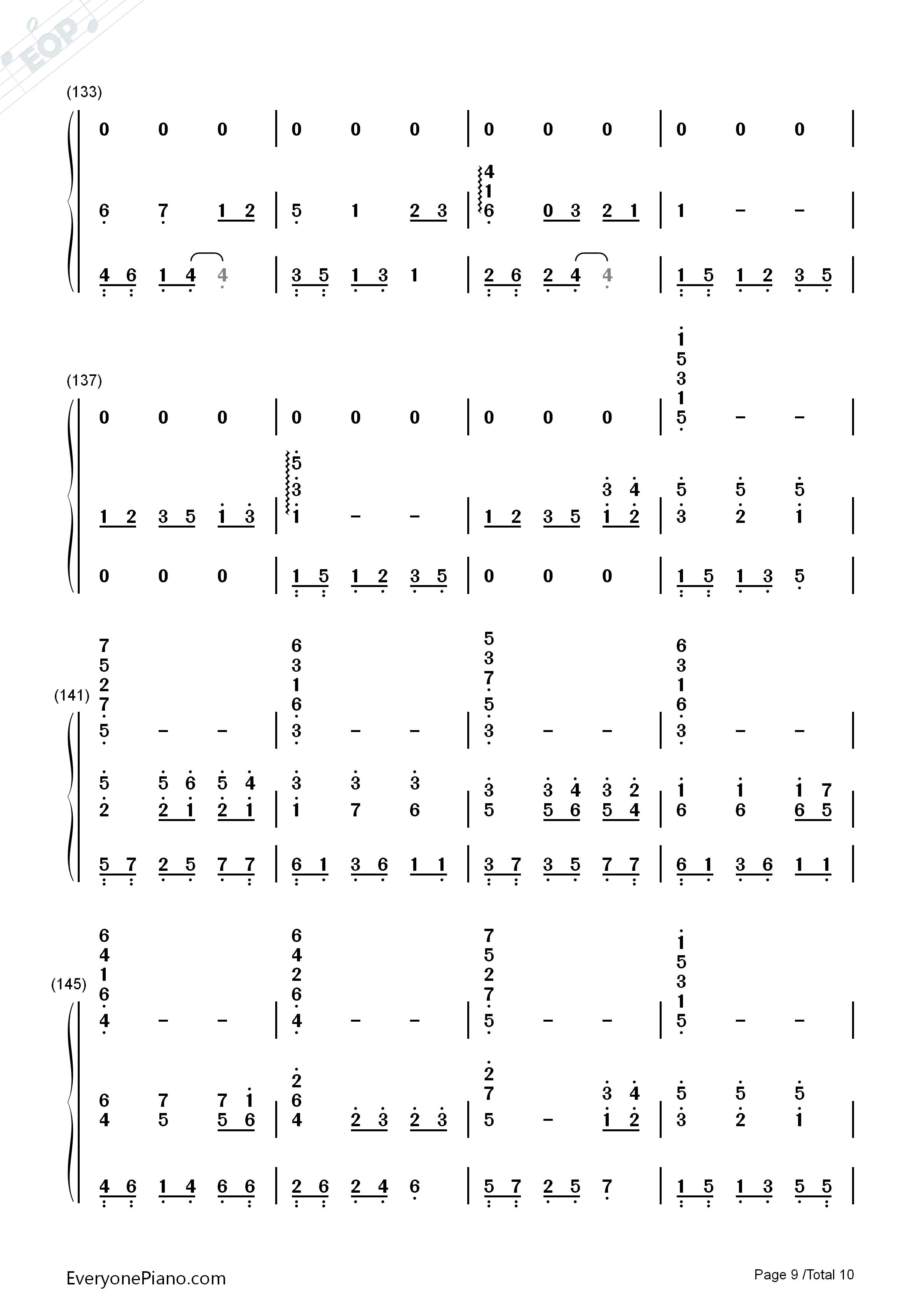spirited away piano sheet pdf