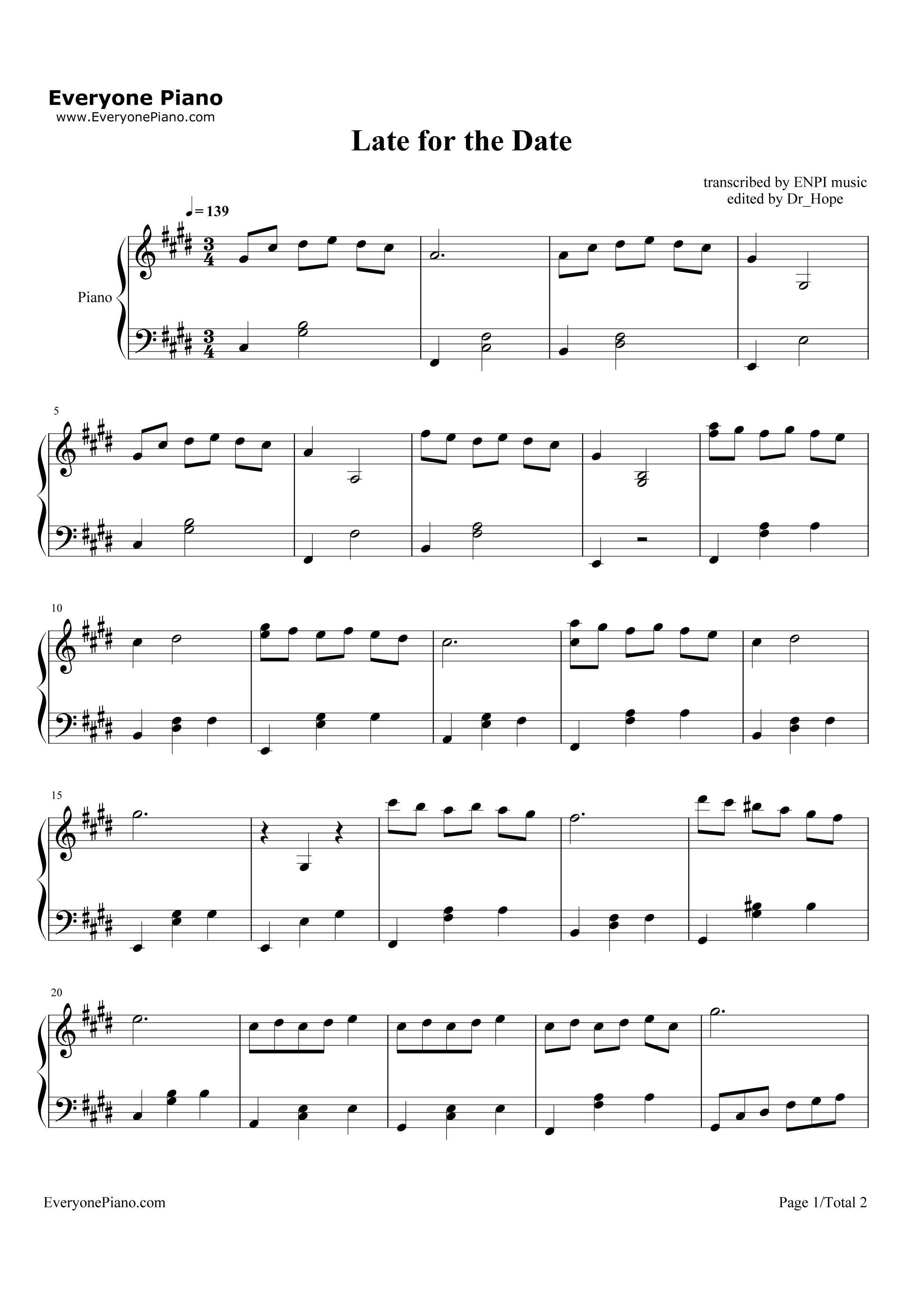 mia and sebastian's theme piano pdf free