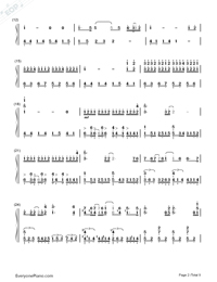 ZenZenZense-Difficult Version-Your Name theme-Numbered-Musical-Notation-Preview-2