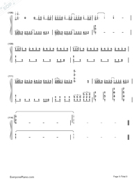 ZenZenZense-Difficult Version-Your Name theme-Numbered-Musical-Notation-Preview-9