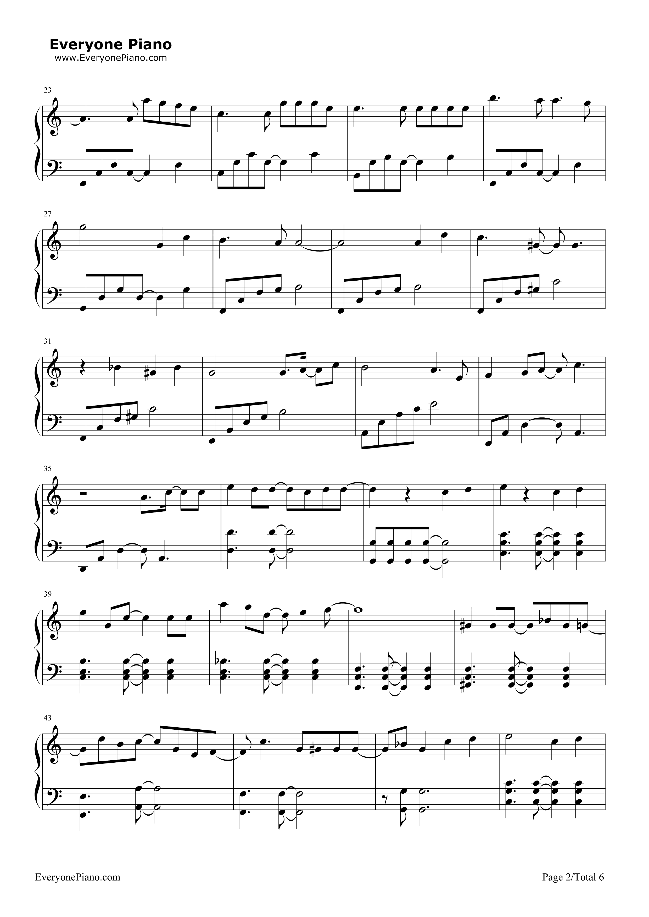 Last goodbye akdong musician stave preview 2 free piano sheet listen now print sheet last goodbye akdong musician stave preview 2 hexwebz Image collections