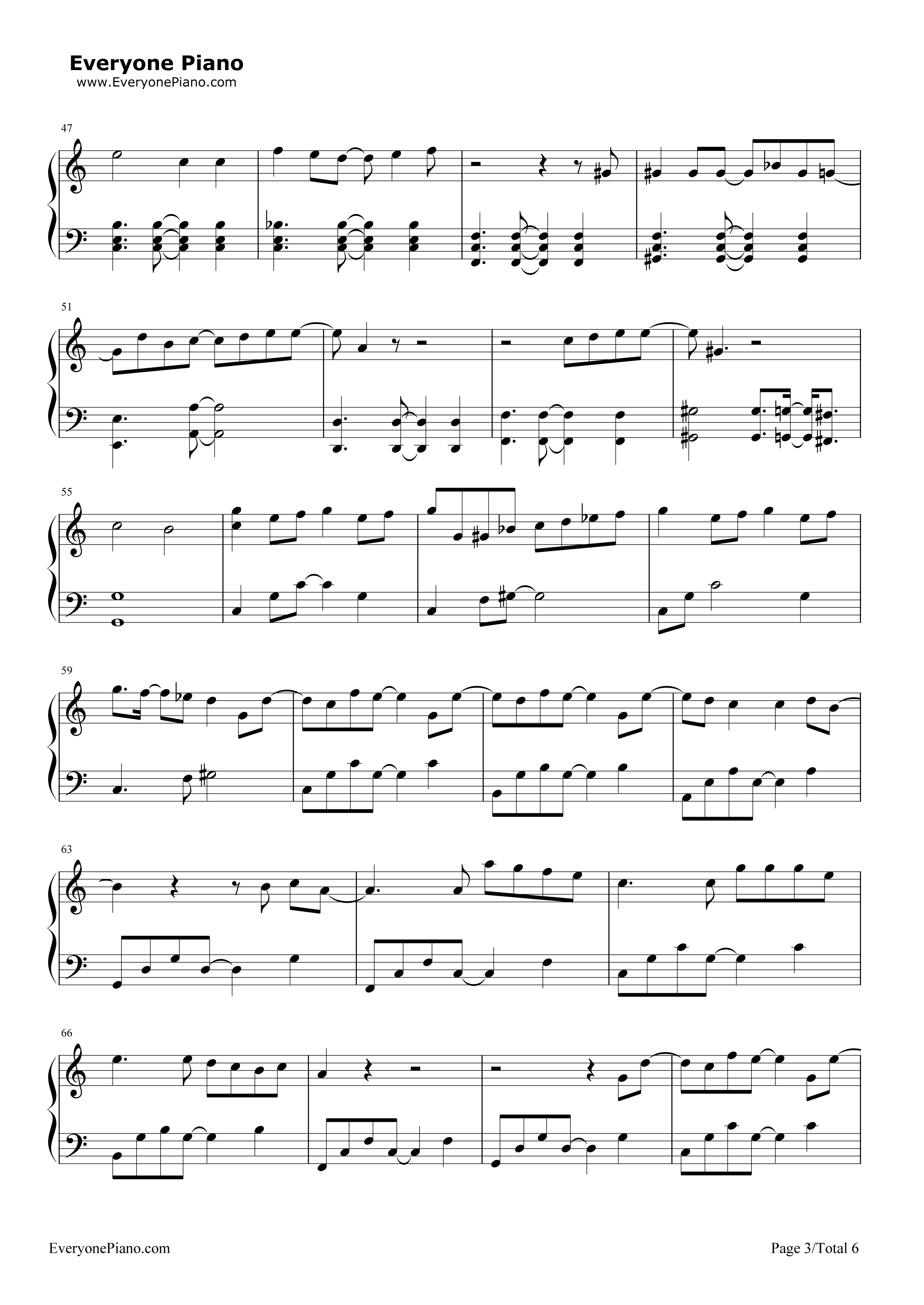 Last goodbye akdong musician stave preview 3 free piano sheet listen now print sheet last goodbye akdong musician stave preview 3 hexwebz Image collections