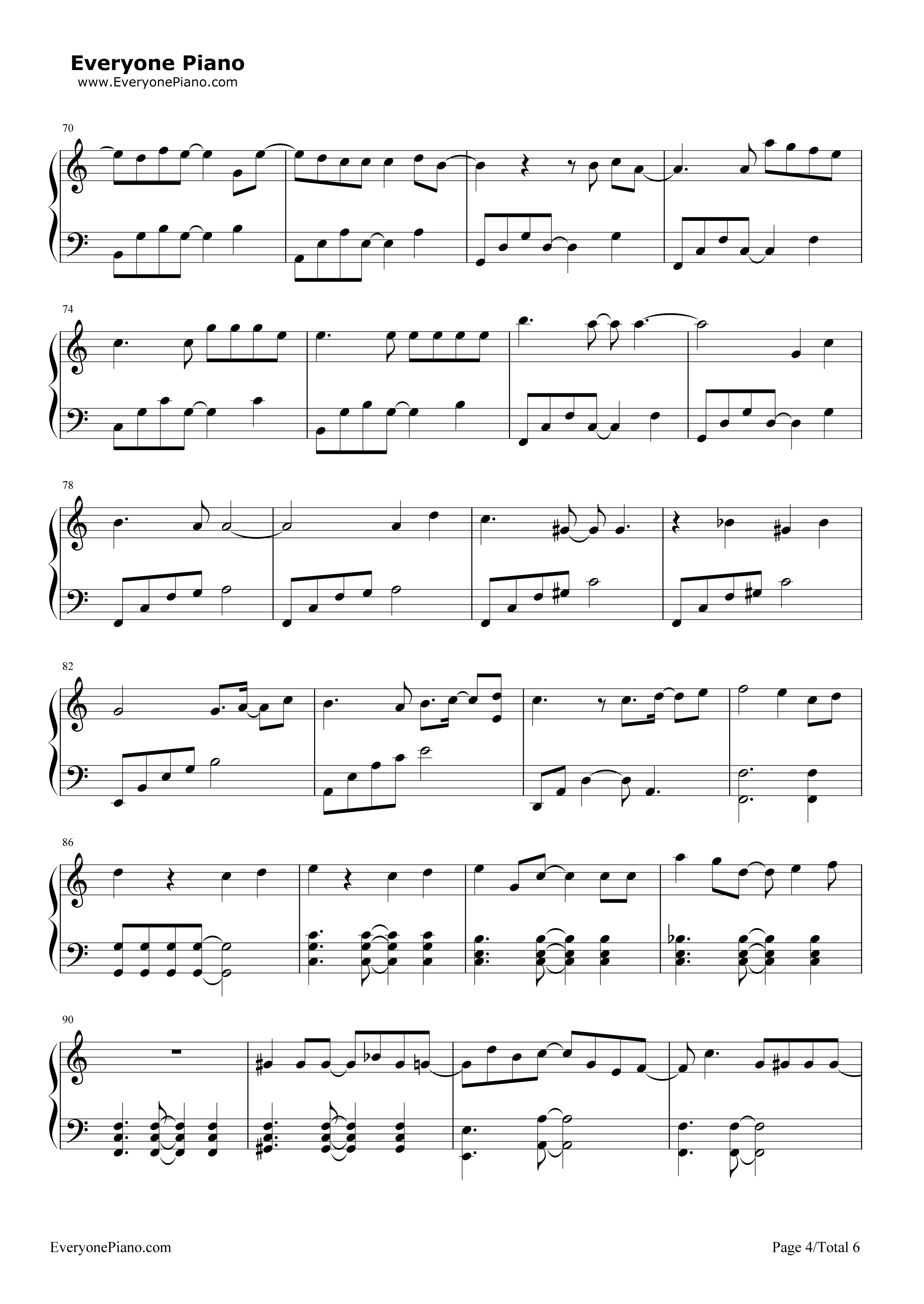Last goodbye akdong musician stave preview 4 free piano sheet listen now print sheet last goodbye akdong musician stave preview 4 hexwebz Image collections