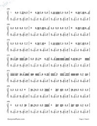 Shape of You-Ed Sheeran-Numbered-Musical-Notation-Preview-2