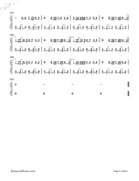Shape of You-Ed Sheeran-Numbered-Musical-Notation-Preview-4