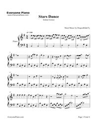 Stars Dance-Selena Gomez Stave Preview 1
