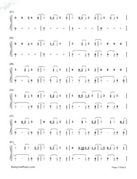Castle On The Hill-Ed Sheeran-Numbered-Musical-Notation-Preview-2