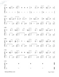 Castle On The Hill-Ed Sheeran-Numbered-Musical-Notation-Preview-6