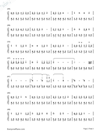 Mountain Stream-Bandari Numbered Musical Notation Preview 2
