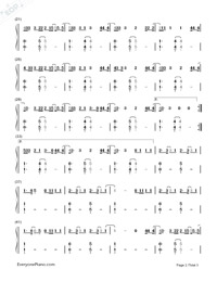 Touch-Little Mix-Numbered-Musical-Notation-Preview-2
