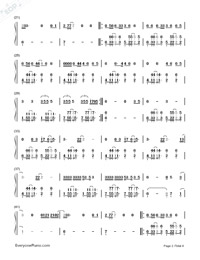 Chained to the Rhythm-Katy Perry-Numbered-Musical-Notation-Preview-2