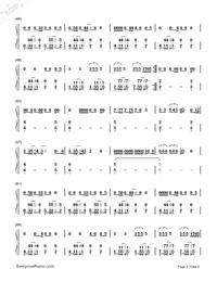 Chained to the Rhythm-Katy Perry-Numbered-Musical-Notation-Preview-3