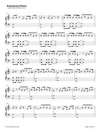 scars to your beautiful piano sheet music pdf
