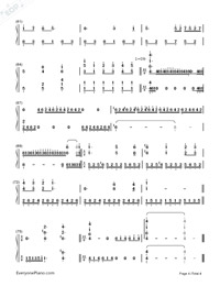 MEMORY-Richard Clayderman-Numbered-Musical-Notation-Preview-4