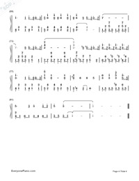 Your Autumn Scene-Yiruma-Numbered-Musical-Notation-Preview-4