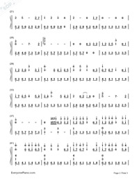 As It Is-A Touch of Green OP-Numbered-Musical-Notation-Preview-2