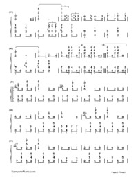 Badenweiler Marsch-German military march-Numbered-Musical-Notation-Preview-3