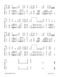 Battle Song For The Powerful Army-Yan Weiwen-Numbered-Musical-Notation-Preview-3