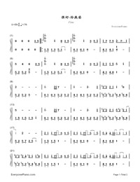 Fine-Stefanie Sun-Numbered-Musical-Notation-Preview-1