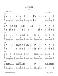 Really-Stefanie Sun-Numbered-Musical-Notation-Preview-1