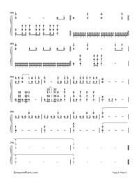 Ashitaka Sekki-Princess Mononoke-Numbered-Musical-Notation-Preview-4