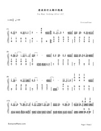 You Want Nothing After All-A-mei-Numbered-Musical-Notation-Preview-1