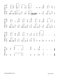Believe In Yourself-Baby Steps OP-Numbered-Musical-Notation-Preview-3