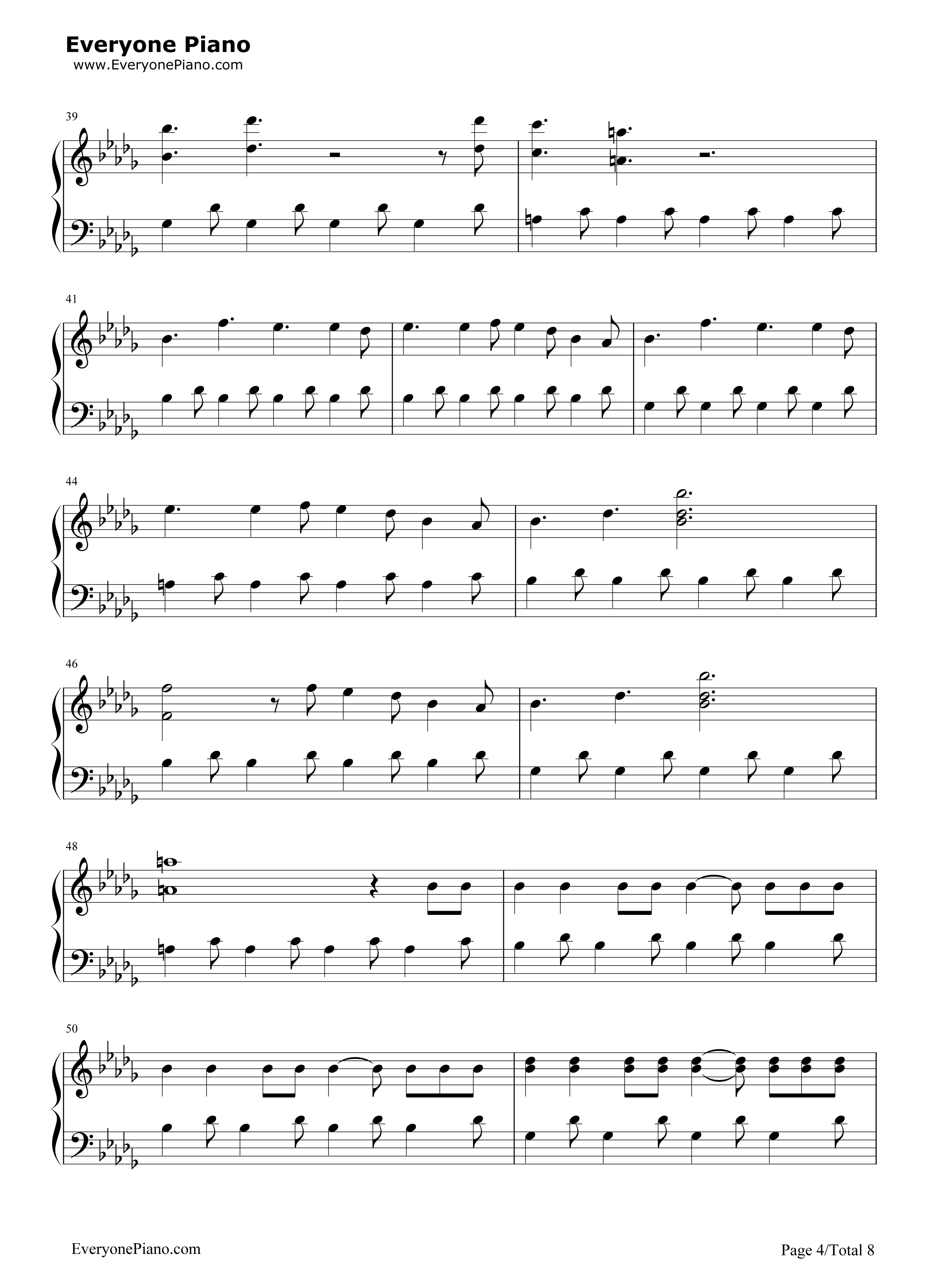 Believer imagine dragons stave preview 4 free piano sheet music listen now print sheet believer imagine dragons stave preview 4 hexwebz Gallery