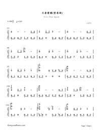 Lets Play Again-King of Glory BGM-Numbered-Musical-Notation-Preview-1