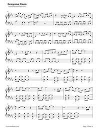 Symphony-Clean Bandit,Zara Larsson五線譜プレビュー3