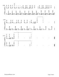 神のまにまに-初音ミク, 鏡音リン, GUMI両手略譜プレビュー8