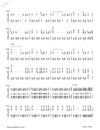 Star Sky-Two Steps from Hell-Numbered-Musical-Notation-Preview-6