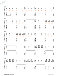 Animal World-Numbered-Musical-Notation-Preview-3