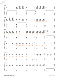 Animal World-Numbered-Musical-Notation-Preview-4