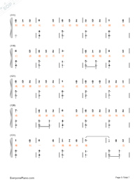Animal World-Numbered-Musical-Notation-Preview-5