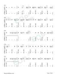 Dream It Possible-Numbered-Musical-Notation-Preview-2