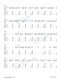 Dream It Possible-Numbered-Musical-Notation-Preview-3