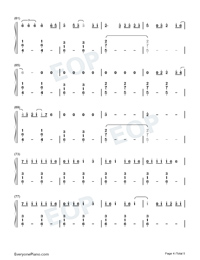 Dream It Possible-Numbered-Musical-Notation-Preview-4