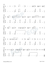 Dream It Possible-Numbered-Musical-Notation-Preview-5