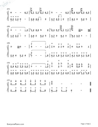 Umi no Mieru Machi-Joe Hisaishi and Hayao Miyazaki-Numbered-Musical-Notation-Preview-2