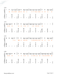 Stars-Fighter of the Destiny OP-Numbered-Musical-Notation-Preview-8