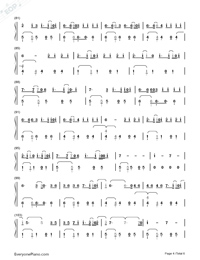 Despacito-Luis Fonsi-Numbered-Musical-Notation-Preview-4