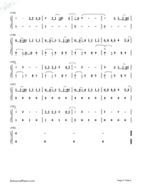 Despacito-Luis Fonsi-Numbered-Musical-Notation-Preview-6