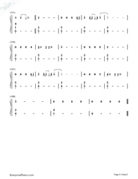 Say Something Loving-The XX-Numbered-Musical-Notation-Preview-6