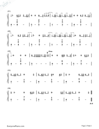 Issues-Julia Michaels-Numbered-Musical-Notation-Preview-2