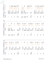 Papaya Cha Cha Cha-Numbered-Musical-Notation-Preview-2