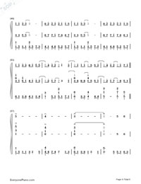 Supermarket Flowers-Ed Sheeran-Numbered-Musical-Notation-Preview-4