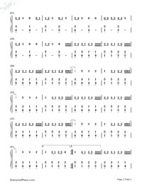 No Vacancy-OneRepublic-Numbered-Musical-Notation-Preview-2