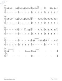 Towards the Sun-Rihanna-Numbered-Musical-Notation-Preview-2