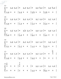 On Wings of Song-Numbered-Musical-Notation-Preview-2
